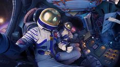 """First Selfie in Space!  From """"The Missed Spaceflight"""" VR Experience for SAMSUNG by MELT."""