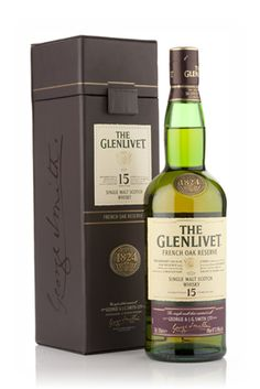 Glenlivet 15 yrs French Oak Reserve