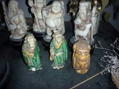 Antique variety Asian Figurines