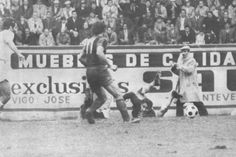 1971-72. Acción de ataque del Barcelona