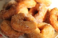 Traditional Moroccan donuts that are usually made at Chanukah and other family celebrations