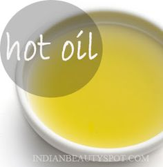 DIY hot oil hair treatment. Reverses Damage and makes hair grow faster!