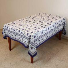 Tablecloth Rectangular 152 X 228 Summer Decor Table Floral Cotton: Amazon.co.uk: Kitchen & Home
