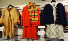 Check out the groovy 1960s flight attendant uniforms! National Airline History Museum, Kansas City