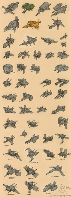 Spaceships via cgpin.com                                                                                                                                                      More