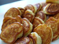 τηγανίτες Pretzel Bites, Sausage, Pancakes, Sweet Home, Sweets, Bread, Breakfast, Desserts, Food Ideas