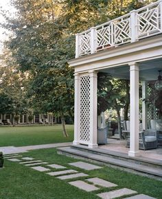 pavers in grass maybe under pergola???...or maybe not...unsure if I like this or not???