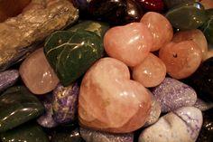 The Love of Ganesha. Heart Crystals. Pinned by #BabooSanFran - baboosf.com