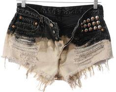 shorts customizados preto 9