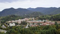 View of the WCU campus.