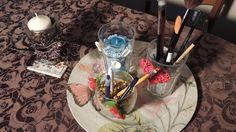 4 inspiracje na szklanki jako świeczniki i organizery DIY aromatyczne oz...
