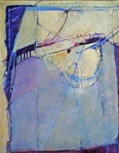 """Elaine Daily-Birnbaum - """"Fandango"""", 30 x 22  watermedia on paper"""