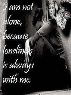 Rock the world - Photo album - Alone days - Alone Boy says ''I am not alone because lonliness is always with me'' Sad Breakup Quotes, Hd Quotes, Best Quotes, Lonliness, Sad Words, Everyday Quotes, Sad Pictures, Sad Wallpaper, I Really Love You