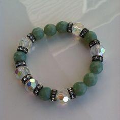 Rustic BOHEMIAN style Stretch bracelets great by jewlsoflove, SALE WAS $40.00 NOW 28.00