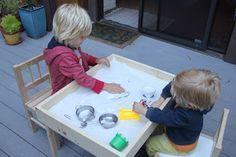 IKEA Hacked Sand Table - DIY