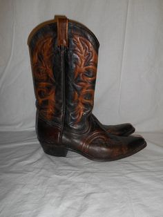 Vintage boots country western     cowboy by ATELIERVINTAGESHOP, $85.00