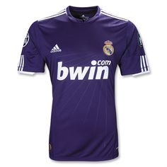 This is a nice away jersey for Real Madrid. Not too many navy blue kits out there, and I'm not sure why.