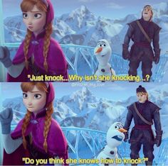 I loved this part!! Olaf is hilarious!!