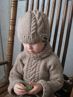 KNITTING PATTERN PDF Sweater Knit pattern Cable Sweater