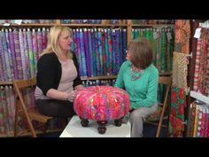 The Tuffet with Lady Sew & Sew