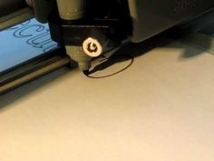 Freecut firmware demo on Cricut machine