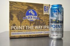 Golden Road Brewing. Designed by Shawn Scott of Gamut