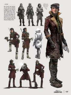 ArtStation - Fallout 4 Character Explorations, Ray Lederer