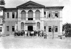Φωτογραφίες από την Κρητική Επανάσταση (1897-1898). Τουρικικό διοικητήριο.