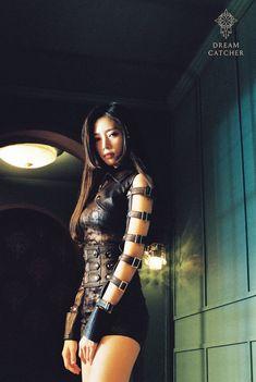 Kpop Girl Groups, Korean Girl Groups, Kpop Girls, Asian Woman, Asian Girl, Kim Min Ji, Dreamcatcher Wallpaper, Mode Lookbook, Elfa