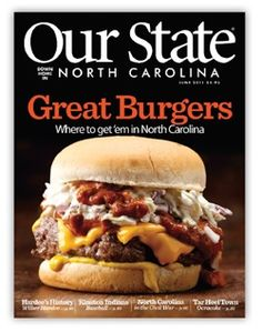"The most famous ""Carolina Burger"" Mustard, slaw, chili, and onions......WOW, what a burger!"