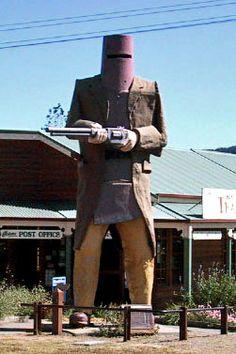 Australia's Infamous Ned Kelly - Glenrowan's most famous landmark