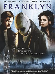 Franklyn - my favorite movie of all time period. If I meet someone that loves it as much as me I don't know what I'd do