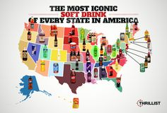 Most Popular Soft Drinks In The USA — Top Soda Drinks In America