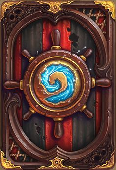 """Card Back of Hearthstone - """"Plundering Pirates"""""""