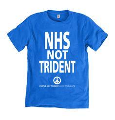NHS Not Trident (Blue) T-shirt