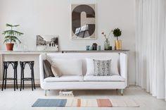 Nett sofa mit hoher rückenlehne