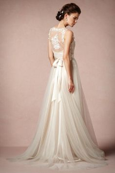 Onyx Gown by BHLDN