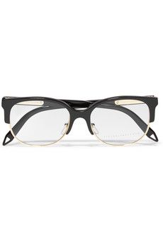 e1a6a06858ec D-frame acetate and metal optical glasses Optical Glasses