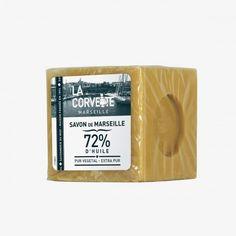 LA CORVETTE MARSEILLE Savon de Marseille bloc de 300g