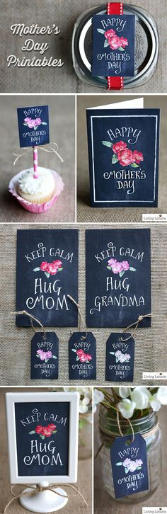 Super Cute Mother's Day Free Printables! Gift Tags, Cards and more. Make Mom a unique homemade gift, invite her over for brunch, give her flowers or send a card with a heartfelt note. If your mom lives far away, fill a box with her favorite goodies and mail them! She'll be happy you thought of her.