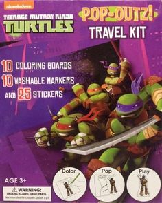 Teenage Mutant Ninja Turtles Pop-Outz Travel Kit - Coloring Boards, Markers, and Stickers, http://www.amazon.com/dp/B00K6ZMVFG/ref=cm_sw_r_pi_awdm_RZrovb1G2KSYW