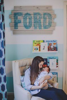 Nursery Name Wall Art DIY