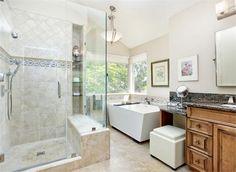 Contemporary (Modern, Retro) Bathroom by Pamela Green