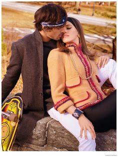 Marlon Teixeira is Boyfriend Material for Vogue Espana Couples Editorial image Marlon Teixeira Vogue Espana Photo Shoot December 2014 005