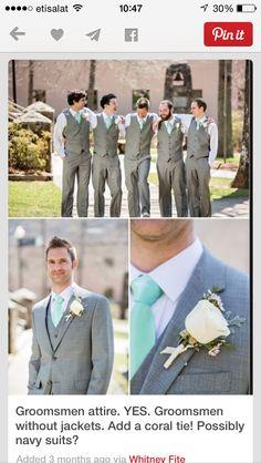 Grooms men vest type suit