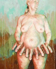 "Saatchi Art Artist Joyce Polance; Painting, ""Coup"" #art"