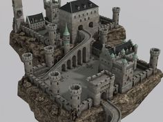 Elevate your workflow with the Medieval Castle asset from DEXSOFT-Games, Find this & other Fantasy options on the Unity Asset Store. Fantasy City, Fantasy Castle, Fantasy Places, Fantasy Map, Medieval Fantasy, Fantasy World, Minecraft Castle, Minecraft Medieval, Minecraft Creations