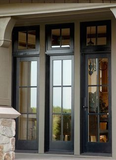 Browse thousands photos of Casement Windows that will inspire you. Find ideas and inspiration for Casement Windows to add to your own home. - July 06 2019 at French Casement Windows, French Doors, Pella Windows, Door Replacement, Interior Windows, Interior Barn Doors, Black Windows Exterior, Windows, Farmhouse