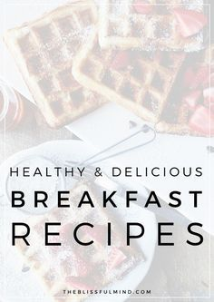 Pancakes, smoothies, tacos (!) - here are some delicious & healthy breakfast recipes to try this week!