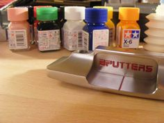 """May 3, 2014: """"Some paintfill make up for the Bputters #hammer #milledinitaly :),"""" Italian puttermaker Bputters Golf explained."""